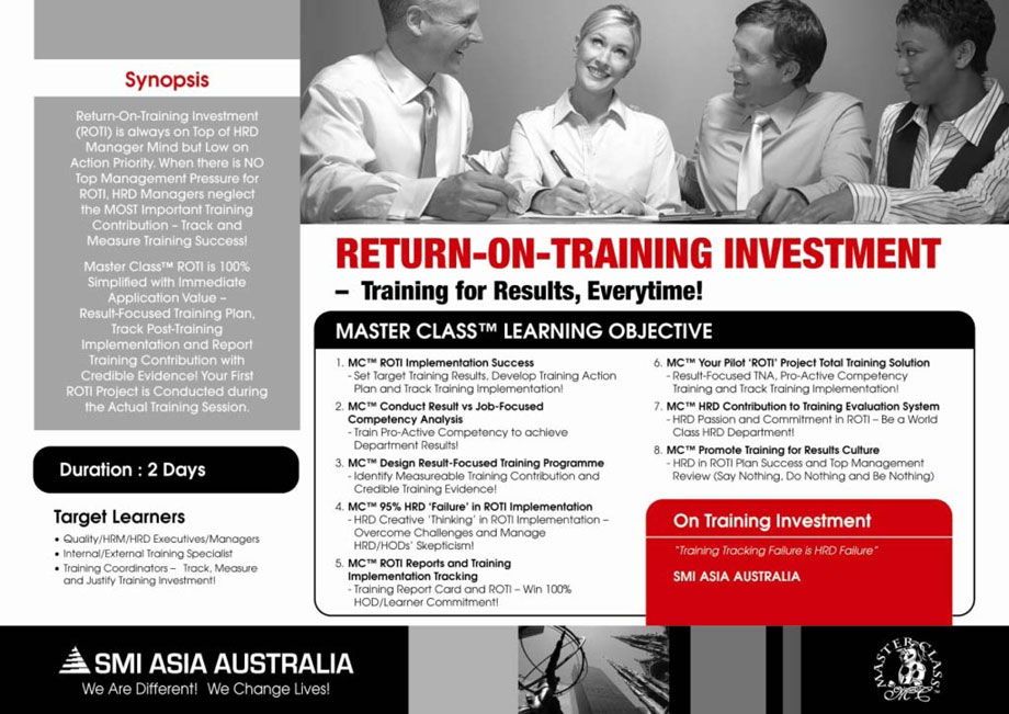 exercise return on investment Return on investment is a crucial analytical tool used by both businesses and investors in this lesson, you'll learn the basic formula, discover a.