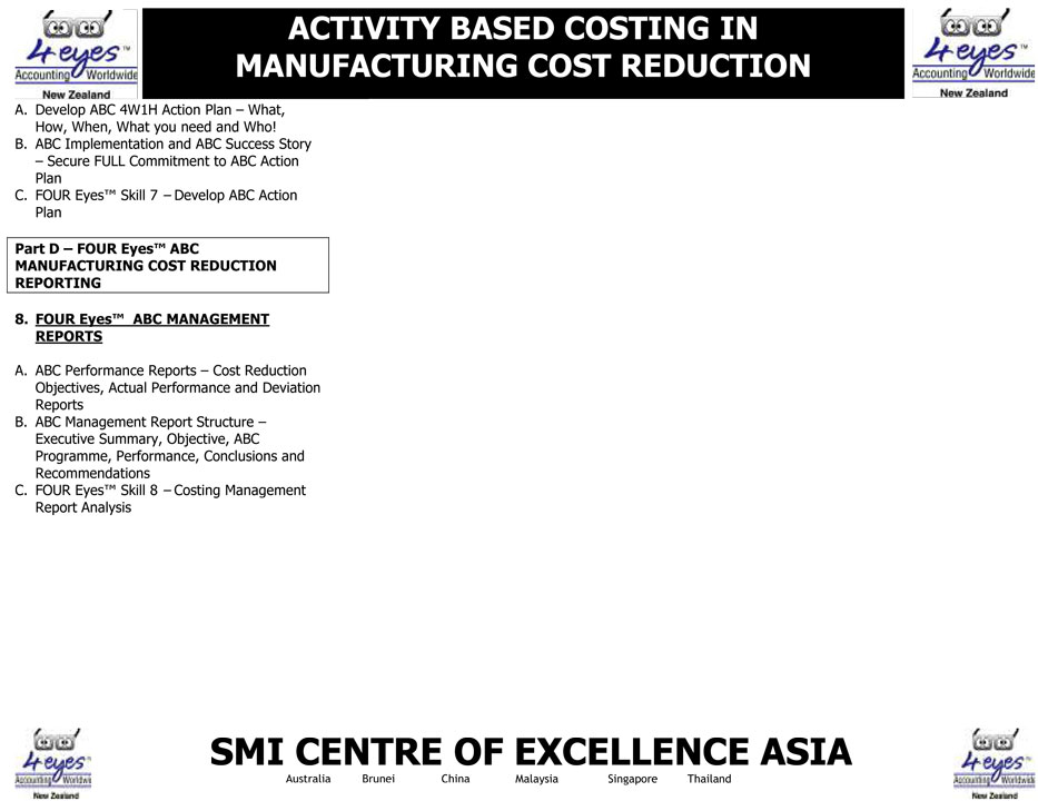 activity based costing in manufacturing That is why activity-based costing (abc) and activity-based management (abm) represents the symbol of improved competitiveness and efficiency in every organization.